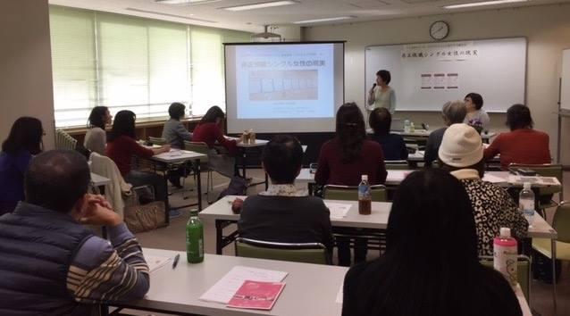 横浜・大阪・福岡で行われた「非正規職シングル女性の社会的支援に向けたニーズ調査」の結果を